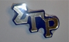 SGRho Large Mirror Letter Pin