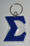 Sigma Large Letter Keychain