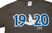Zeta Large Year Tee *NEW*