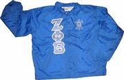 Zeta Metallic Letter Jacket