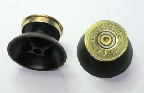 Pair of Thumbstick Bullet Brass+Brass for XBOX 360