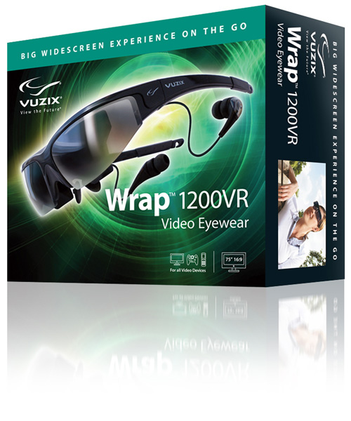 cfc7d65bc Vuzix - Wrap 1200VR Head Mounted Display
