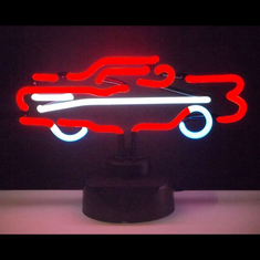 57  CHEVY CAR NEON SCULPTURE