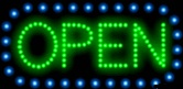Animated LED OPEN Sign-Horizontal Style - Made in the U.S.A