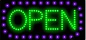 Animated LED OPEN Sign-Horizontal Style-ASSEMBLED in the U.S.A