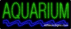 Aquarium LED Sign