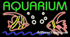 Aquarium Neon Sign