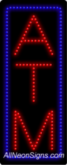 ATM (vertical) LED Sign