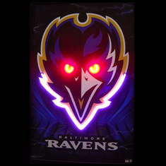 BALTIMORE RAVENS NEON/LED PICTURE