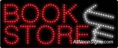 Book Store, Logo LED Sign