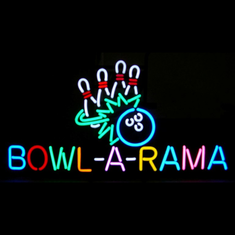 BOWL-A-RAMA NEON SIGN