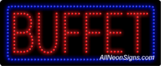 Buffet LED Sign