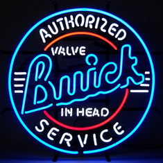 BUICK SERVICE NEON SIGN