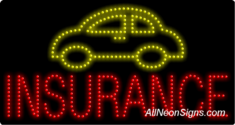 (Car) Insurance LED Sign
