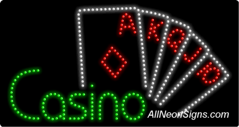 Casino LED Sign