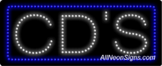 CD's LED Sign