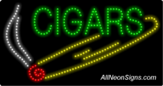 Cigars LED Sign