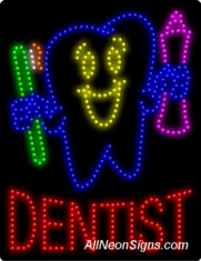 Dentist LED Sign