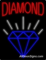Diamond LED Sign