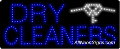 Dry Cleaners, Logo LED Sign