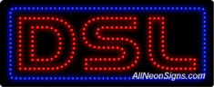 DSL LED Sign
