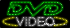 DVD Video LED Sign