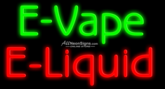 E-Vape E-Liquid - 021 - NEON SIGN