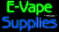 E-Vape Supplies - 015 - NEON SIGN