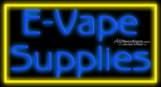 E-Vape Supplies - 016 - NEON SIGN