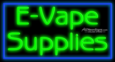 E-Vape Supplies - 017 - NEON SIGN