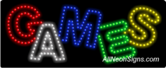 Games LED Sign