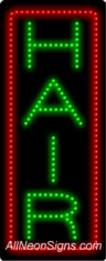 Hair (vertical) LED Sign