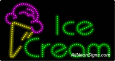 Ice Cream LED Signs