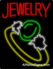 Jewelry (large size) LED Sign