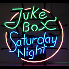JUKEBOX SATURDAY NIGHT NEON SIGN
