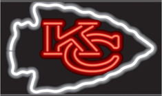 KANSAS CITY CHIEFS NEON SIGN