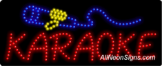 Karaoke, Logo LED Sign