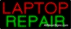 Laptop Repair LED Sign