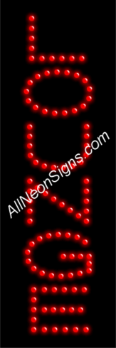 Lounge LED Sign