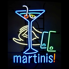 MARTINIS! NEON SIGN