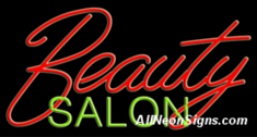 Neon Sign - BEAUTY SALON