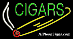 Neon Sign - CIGARS