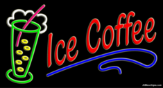Neon Sign - ICE COFFEE