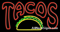 Neon Sign - TACOS