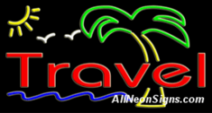 Neon Sign - TRAVEL