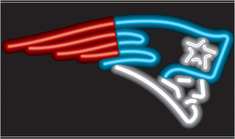 NEW ENGLAND PATRIOTS NEON SIGN