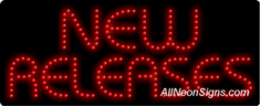 New Releases LED Sign