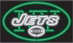 NEW YORK JETS NEON SIGN