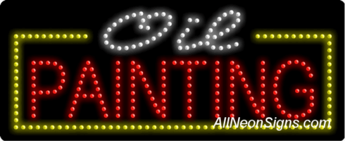Oil Painting LED Sign