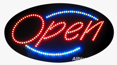 Open LED Sign (Animations)